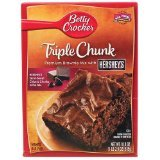 Betty Crocker Premium Brownie Mix, Triple Chunk, 18.9-Ounce (Pack of 6 ) at Amazon.com