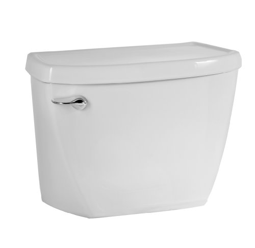 American Standard 4142.016.020 Yorkville Flushometer Toilet Tank Complete with Coupling Components, White (Tank Only)