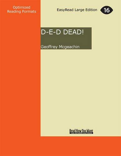 Buchseite und Rezensionen zu 'D-E-D Dead! (1 Volume Set)' von Geoffrey Mcgeachin