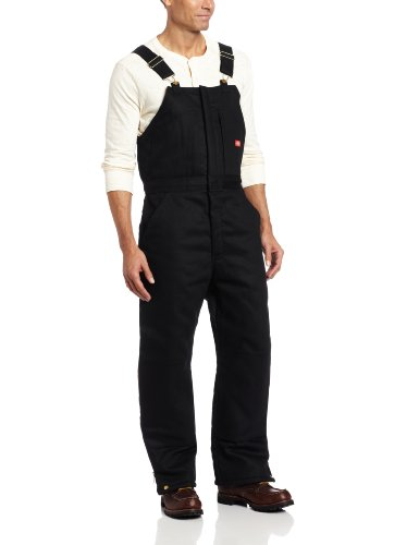 Dickies Men's Insulated Bib Overall, Black