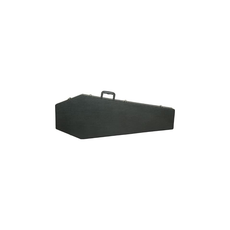 b9abcc67cf Coffin Case The Coffin Undertaker Guitar Case Black/Red on PopScreen