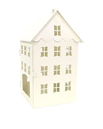 Figura Decorativa Christmas House Panna