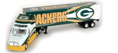 Green Bay Packers 2003 NFL Limited Edition Die-Cast 1:80 Kenworth Tractor Trailer Collectible