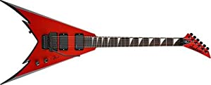 Jackson PDX X Series Demmelition King V Electric Guitar (Red with Black Bevels)