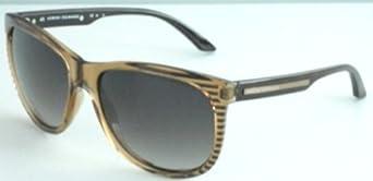 Women's Armani Exchange Light Brown Wayfarer Sunglasses - AX262/S