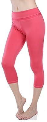 Emmalise Women's Yoga Gym Workout Capri Legging Pants Bottom