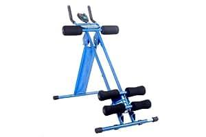 FA Sports Energy Plank Machine d'exercice pour abdominaux, cuisses et fessiers
