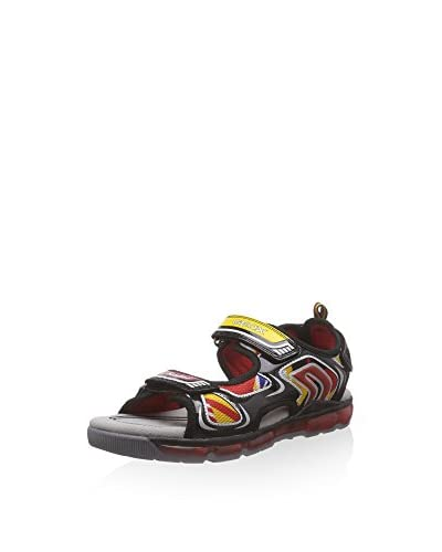 Geox Sandalo Outdoor J Sandal Android Boy [Nero]
