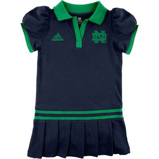 adidas Notre Dame Fighting Irish Infant Polo Dress (12 Months) at Amazon.com