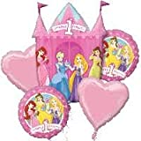 Disney Princess 1st Birthday Balloon Bouquet