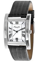 buy Kenneth Cole New York Leather - Black Men'S Watch #Kc5174