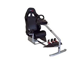 GTR Racing Simulator - Touring Model with Real Racing Seat, Driving Simulator Cockpit Gaming Chair with Gear Shifter Mount
