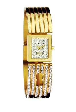* DOLCE & GABBANA WATCH for WOMEN * Gold Tone * D&G Model: DW0254 - Spy Me