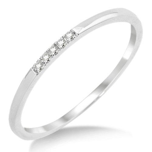 Eternity Ring, 9ct White Gold, Diamond Eternity