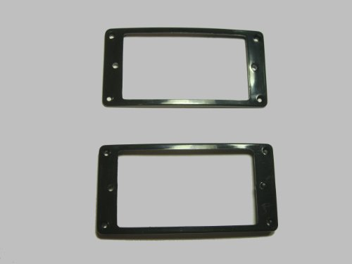 [Domestic] humbuckers for エスカッション for Arch top set black PUR-AT-BK