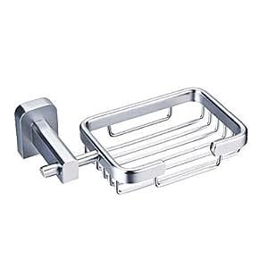 Alluminio accessori per bagno cestino del sapone 1041 les 6207 casa e cucina - Amazon accessori bagno ...