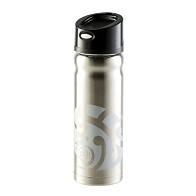 Stainless Steel Thermal Water Bottle - 16 oz Tatau with Pop Lid