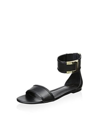 Rachel Zoe Women's Gracie Flat Sandal  [Black]