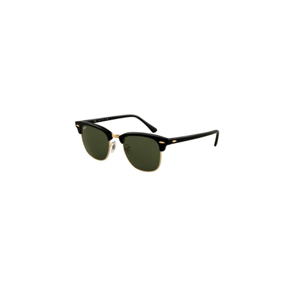 21c0815dd4 Ray Ban Clubmaster Sunglasses Ebony Arista   G 15 XLT on PopScreen
