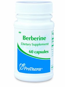 Glycosolve 500 mg Berberine 60 caps