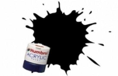 Humbrol Acrylic, Black