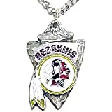 Washington Redskins Chain Necklace & Pewter Pendant - NFL Football Fan Shop Sports Team Merchandise