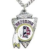 Washington Redskins Chain Necklace & Pewter Pendant - NFL Football Fan Shop Sports Team Merchandise
