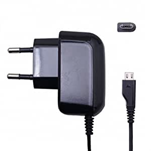 D'clair Premium OEM Genric Samsung Wall Charger with charging Cable for Samsung Galaxy Grand Quattro -Black