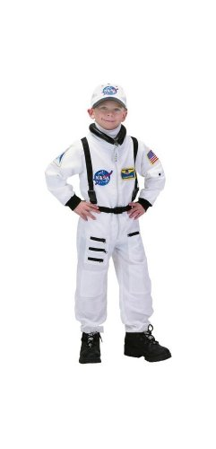 Astronaut Costume - White Suit - Child