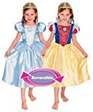 Cinderella to Snow White Reversible Fancy Dress Costume - Age 5-7 Years