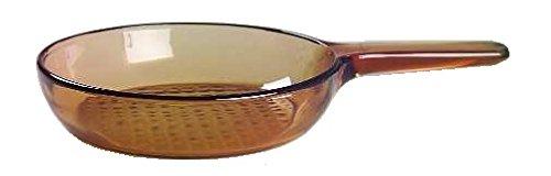Visions - Padella da 24 cm in vetroceramica Pyroceram, marrone