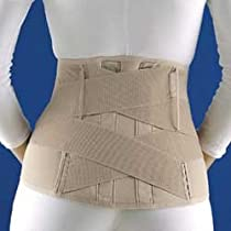 Florida Orthopedics 31-560 Soft Form Lumbar Sacral Support with Contoured Rigid Stays - Medium