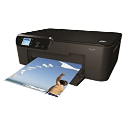 HP Deskjet 3521 e-All-in-One Color Printer - Black (CX058AB1H)