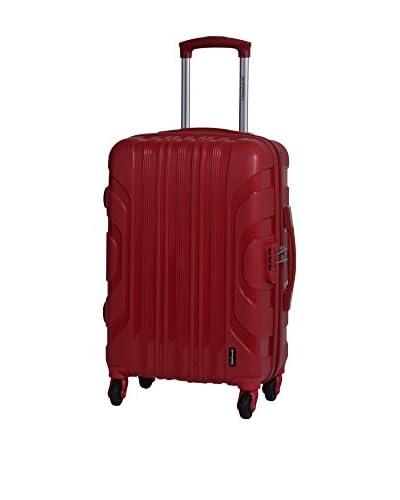 TRAVEL WORLD Trolley rígido 91020 Rojo