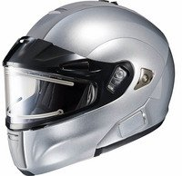 New Hjc Snow Is-Max Bt Helmet With Electric Lens, Silver, Xl