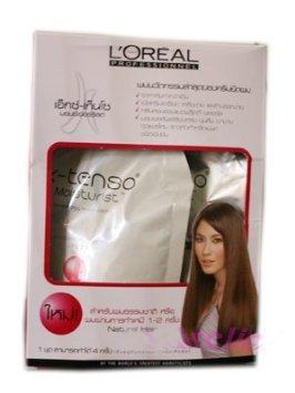 L'oreal X-tenso Straightener Cream Natural Hair 125ml Hair Set