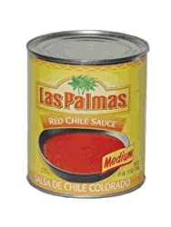 Red Chili Sauce Medium by Las Palmas, 28 oz