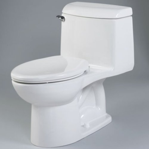 Buy American Standard Champion Right Height Elongated One-Piece Toilet – Bone