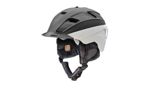 Head Unisex Wappen Krempe Snowsports Helm schwarz / weiß M/L (56.0-59.0) cm