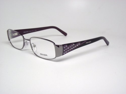 17a4afa489 PRADA GLASSES DESIGNER FASHION PRESCRIPTION EYEGLASSES WOMENS AUTHENTIC  PALLADIUM