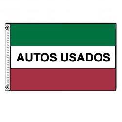 Amazon.com : Autos Usados Flag (3 ft. x 5 ft.) : Outdoor Flags : Patio