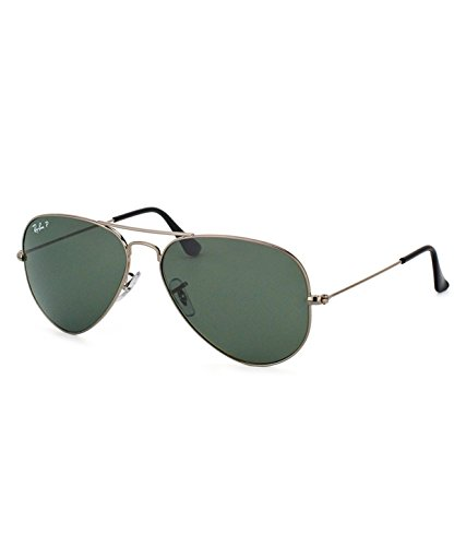 Ray-Ban RB3025 004 Medium Size 58 Aviator Sunglasses