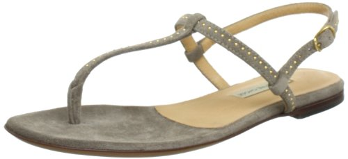 L'Autre Chose INFRADITO DONNA CROSTA FANGO Flip-Flops Womens Beige Beige (TAUPE) Size: 4 (37 EU)
