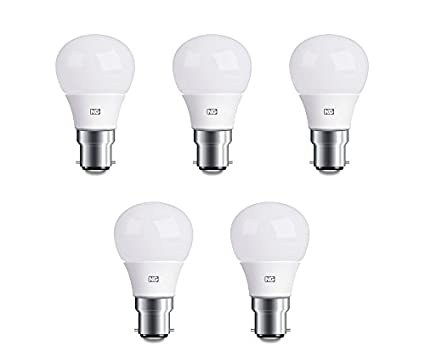 6W Cool White Led Lights (Set Of 5)