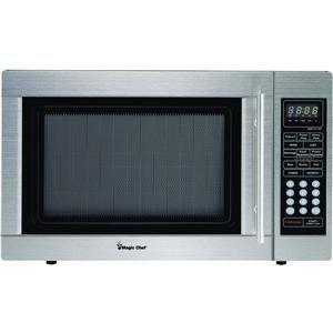 Magic Chef 1.3cf 1000W S-Steel Microwave ( MCD1311ST )
