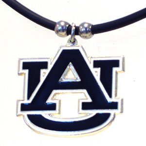 Auburn Tigers Logo Pendant Rubber Necklace at Amazon.com