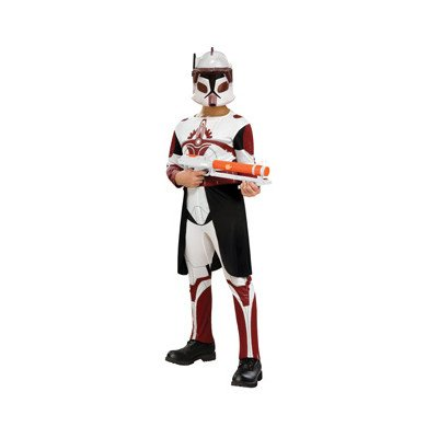 Clone Trooper Commander Fox Kids Costume