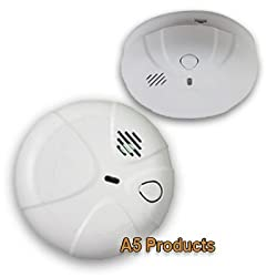 Axiom Smoke Alarm 240v Hard Wired w/ 9v Battery Backup