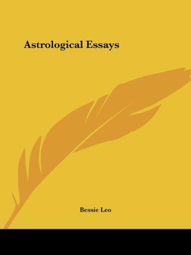 Astrological Essays