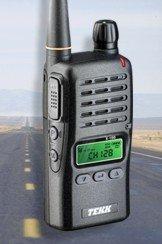 Tekk XU-100 Handheld Portable Two Way Radio by Tekk